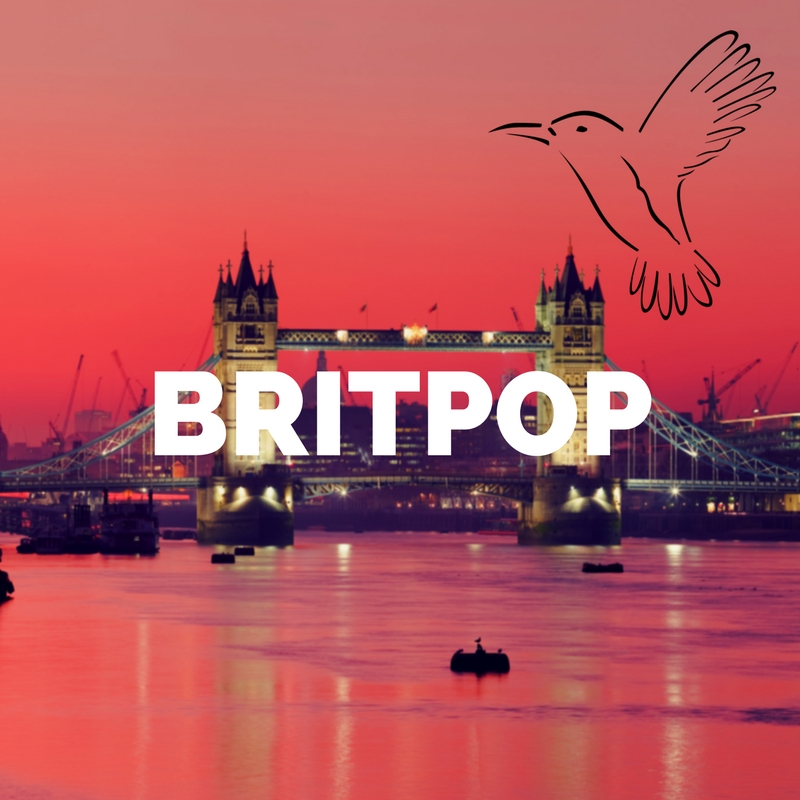 Britpop Mix Playlist Playlist - Kolibri Music