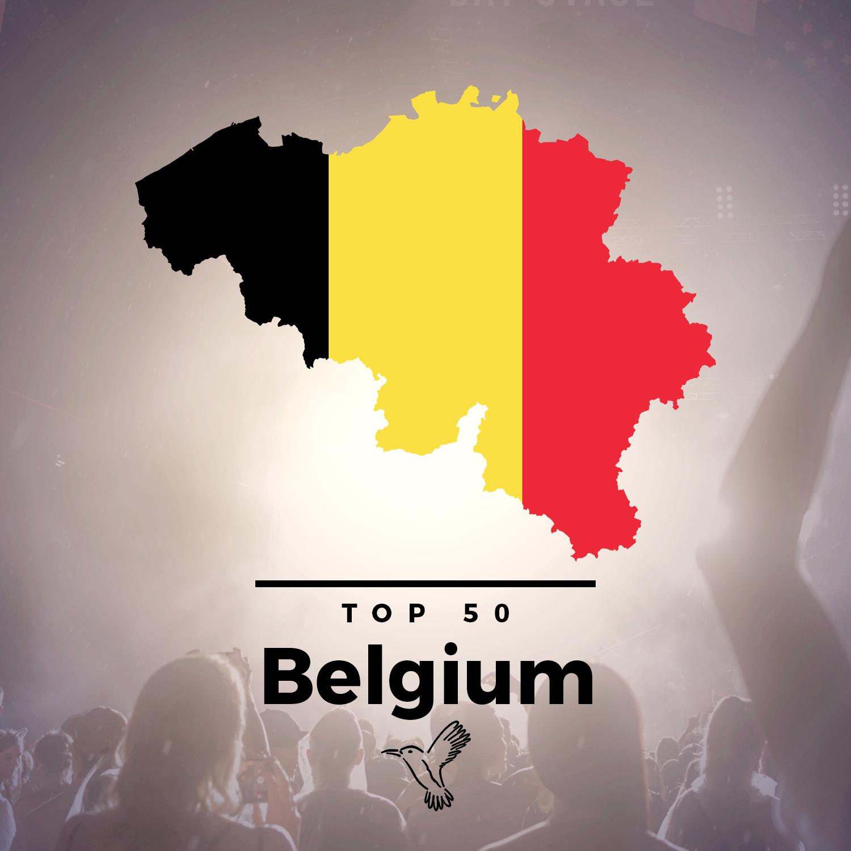 Spotify top 50 Belgium chart image