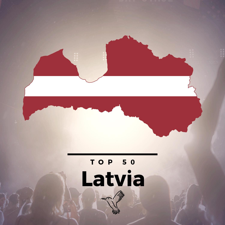 spotify top50 latvia