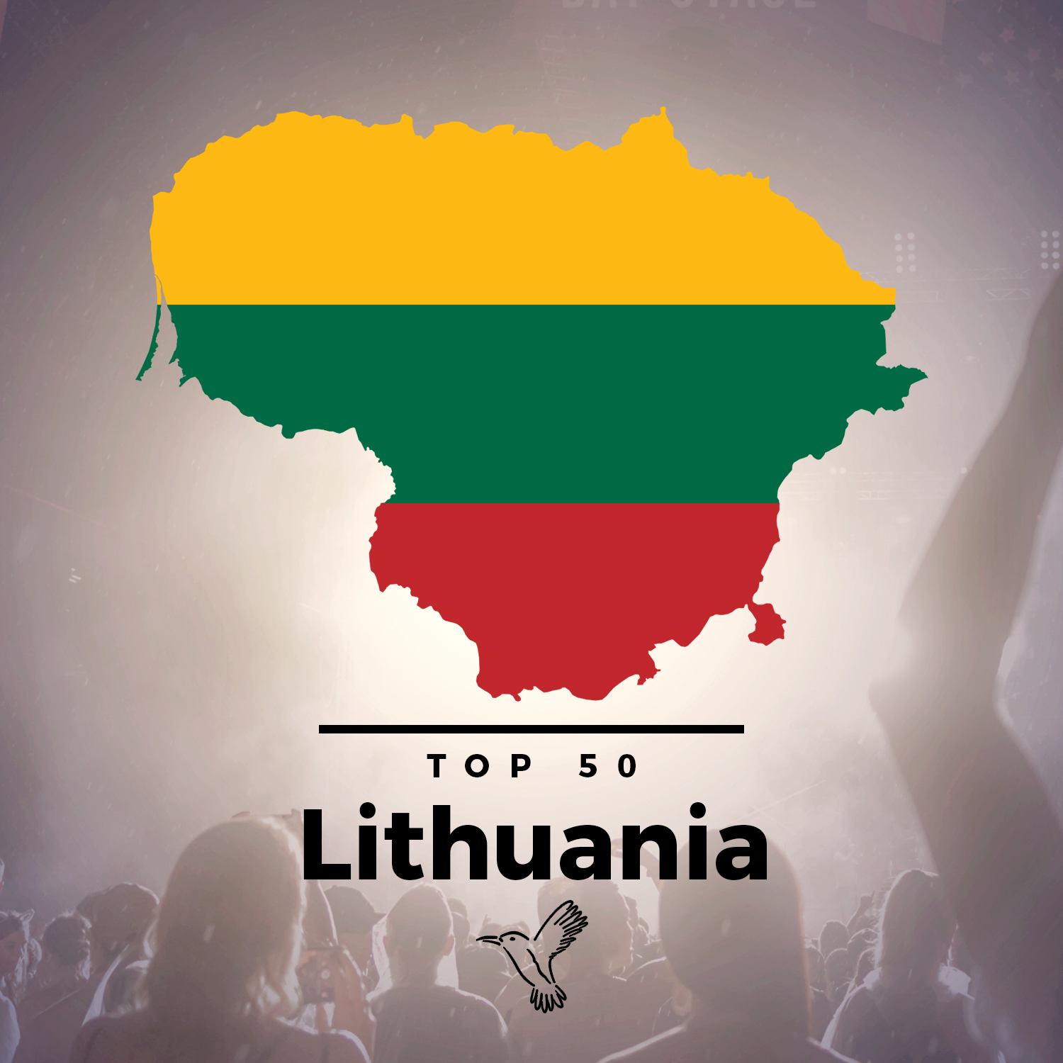 spotify top50 lithuania