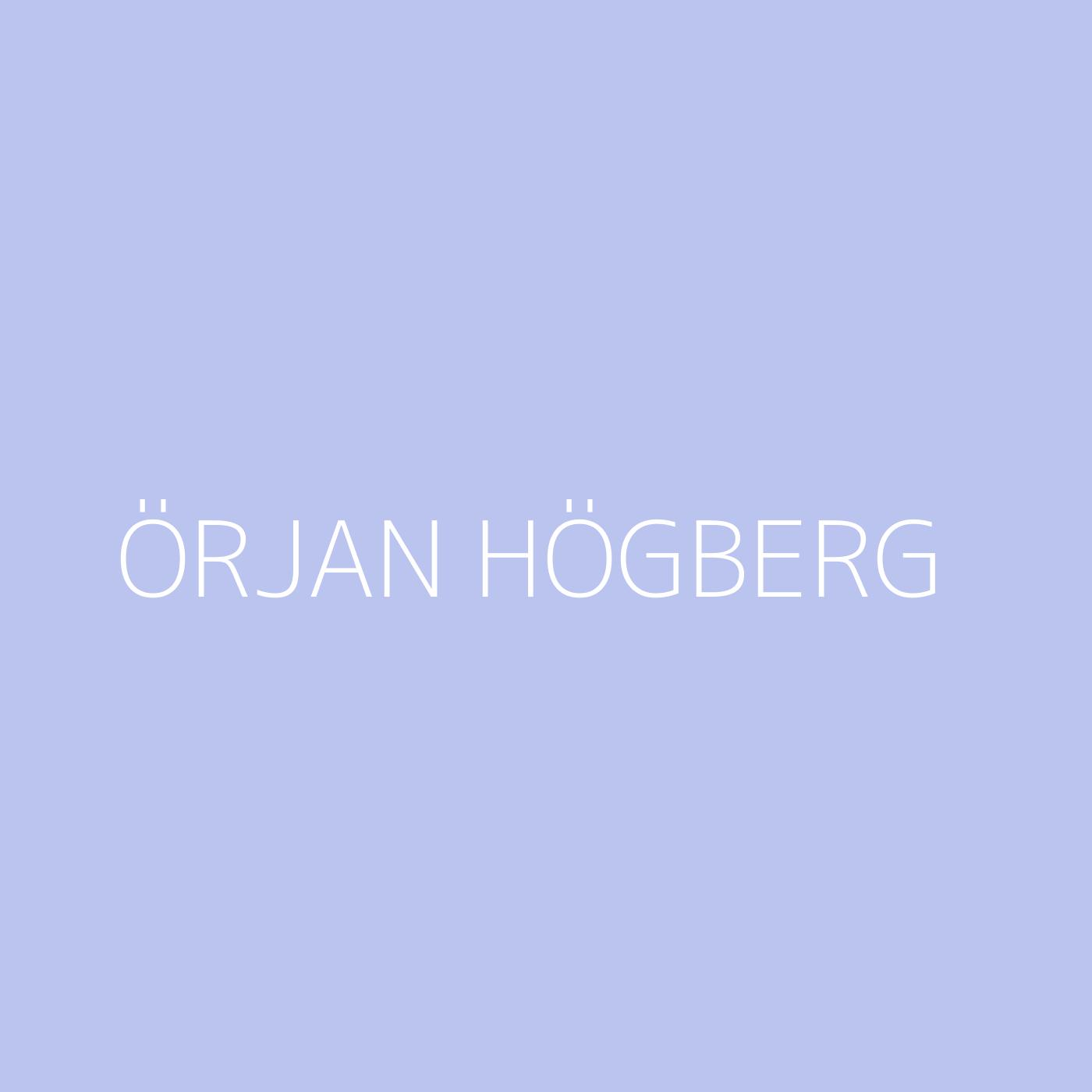 Örjan Högberg Playlist Artwork
