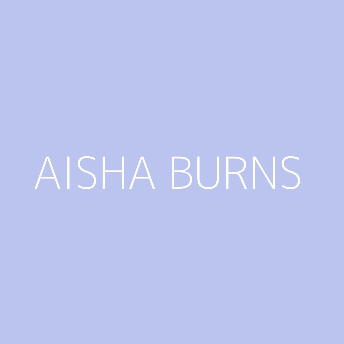 Aisha Burns Playlist Artwork