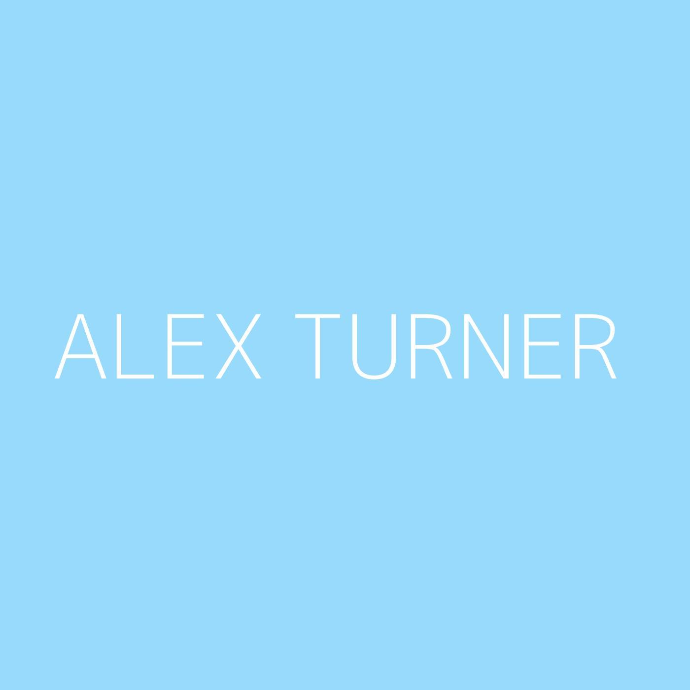 Alex Turner Playlist Artwork