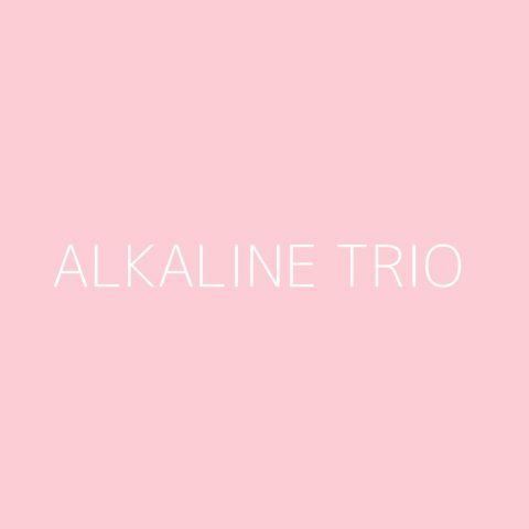 Alkaline Trio Playlist – Most Popular