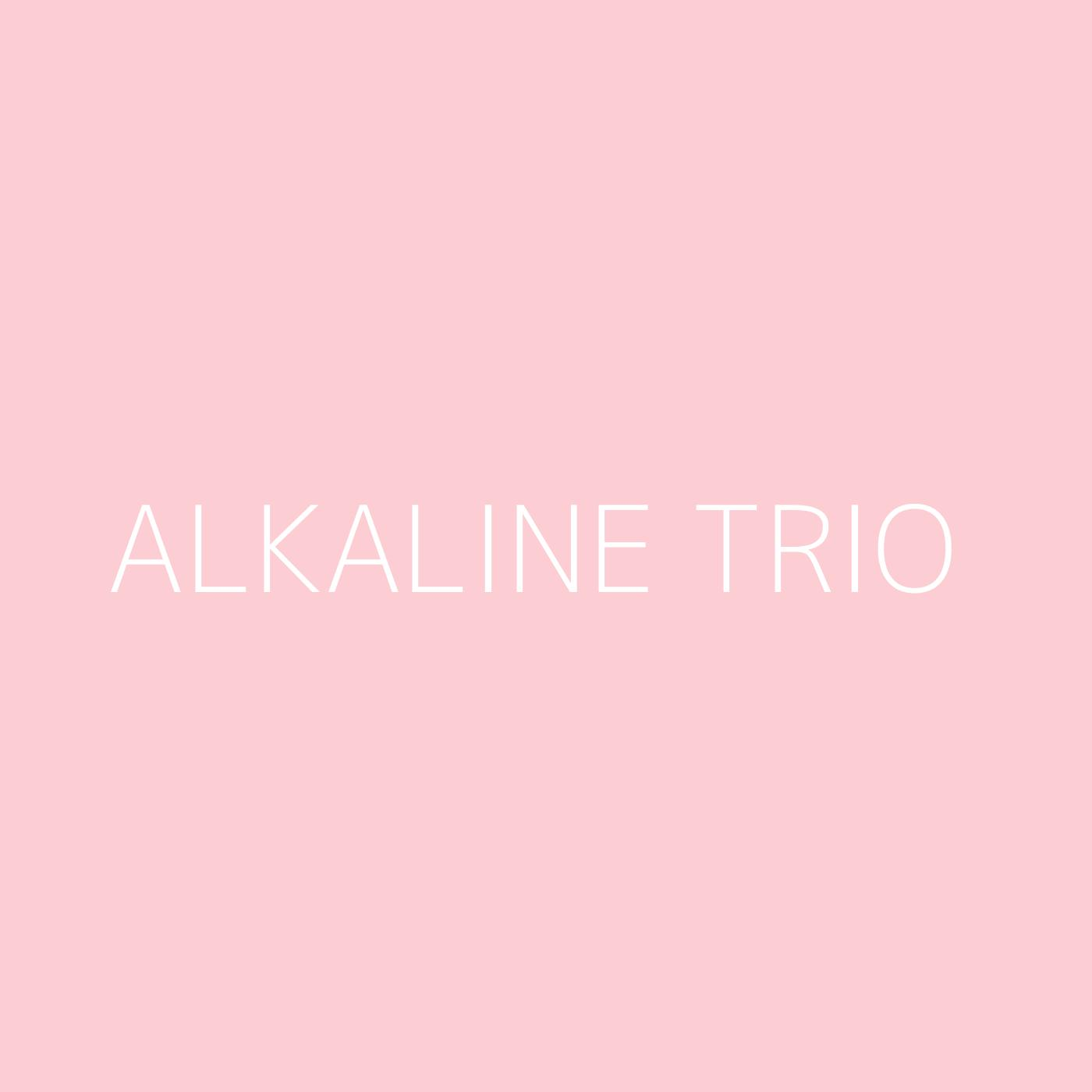 Alkaline Trio Playlist Artwork