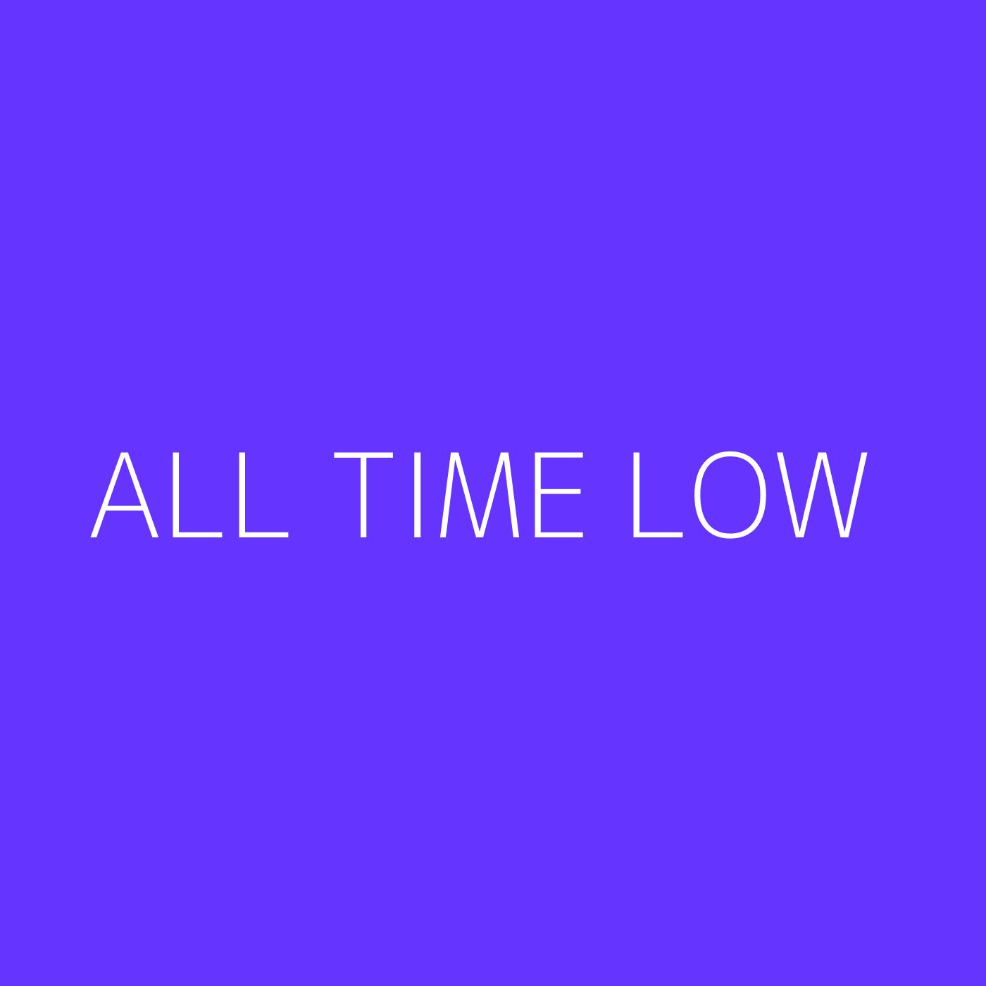 All Time Low Playlist Artwork