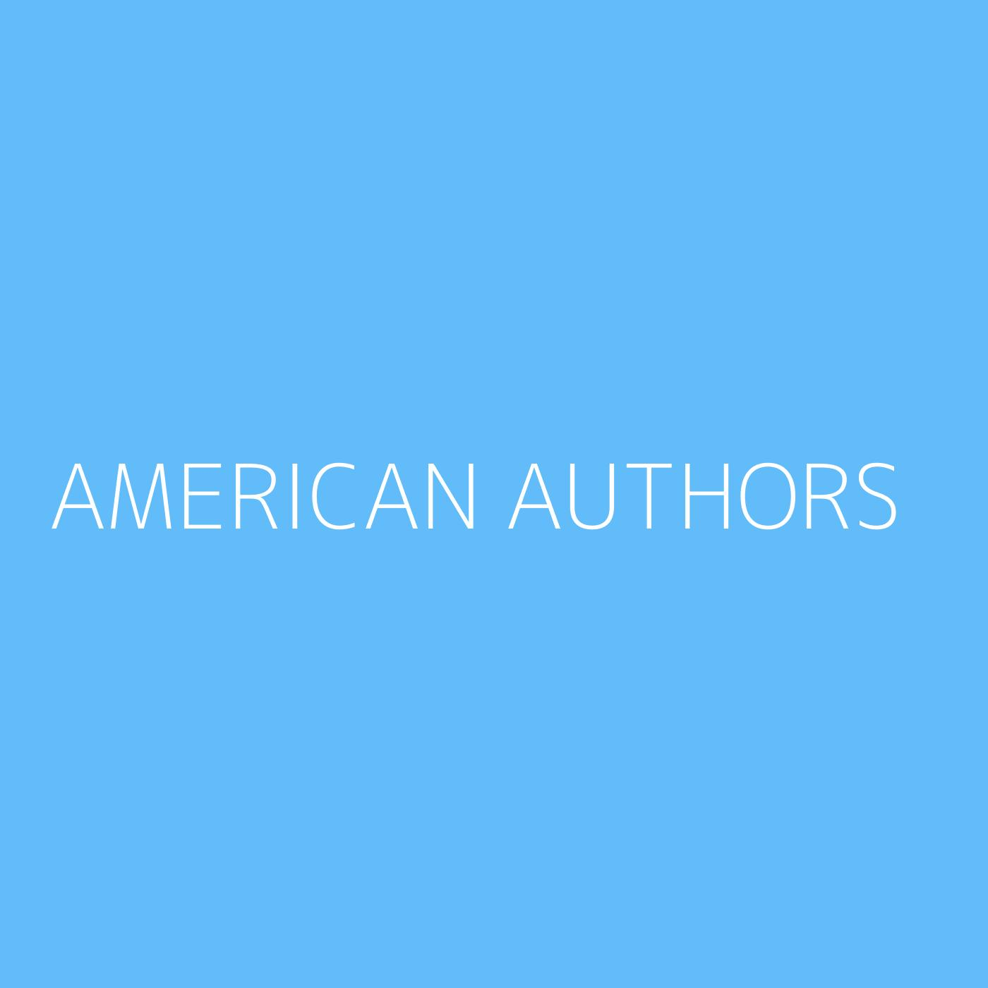 American Authors Playlist Artwork