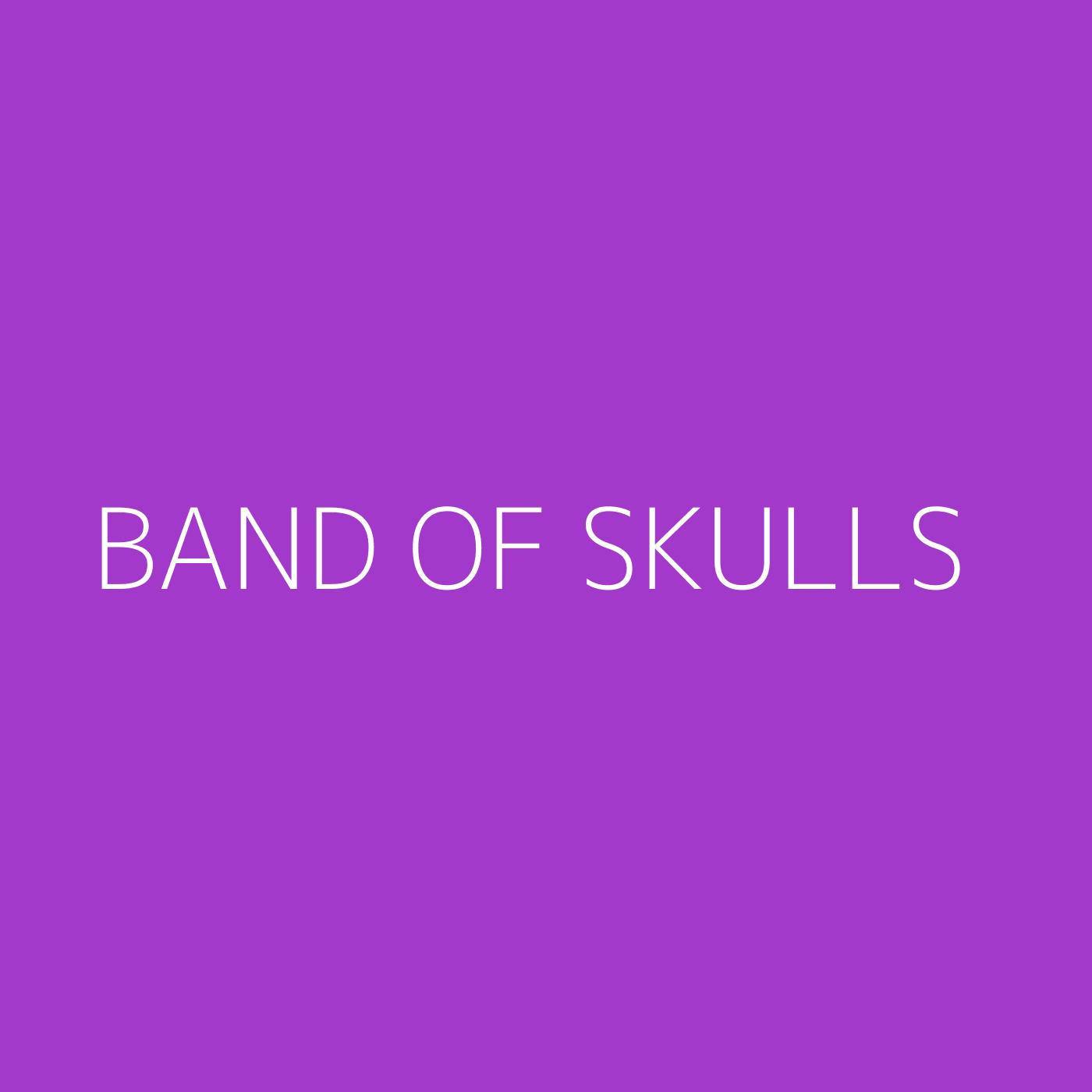 Band Of Skulls Playlist Artwork