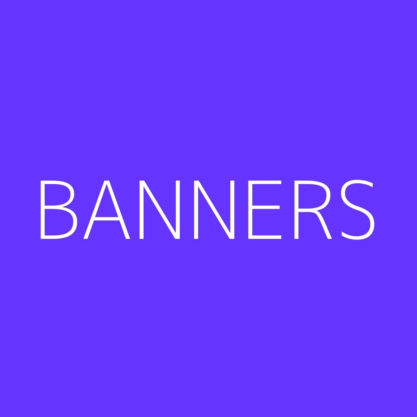 BANNERS Playlist Artwork