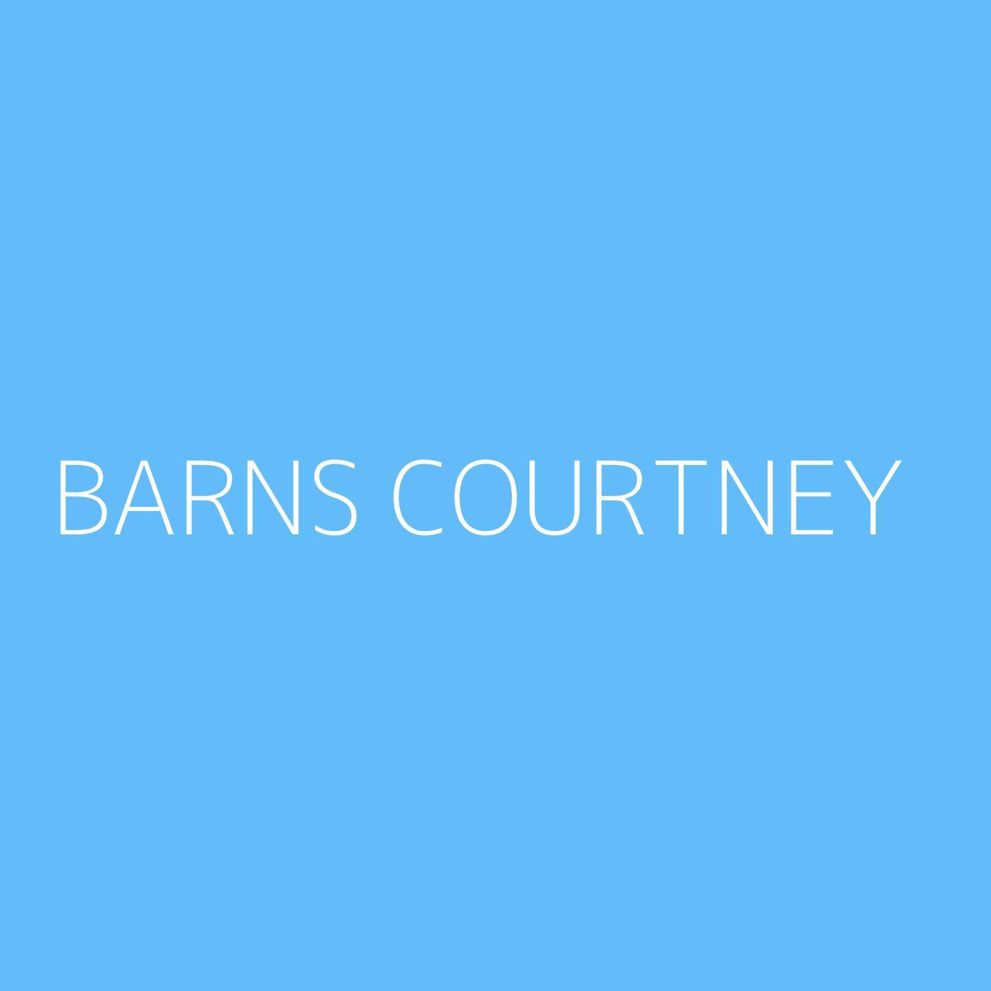 Barns Courtney Playlist Artwork