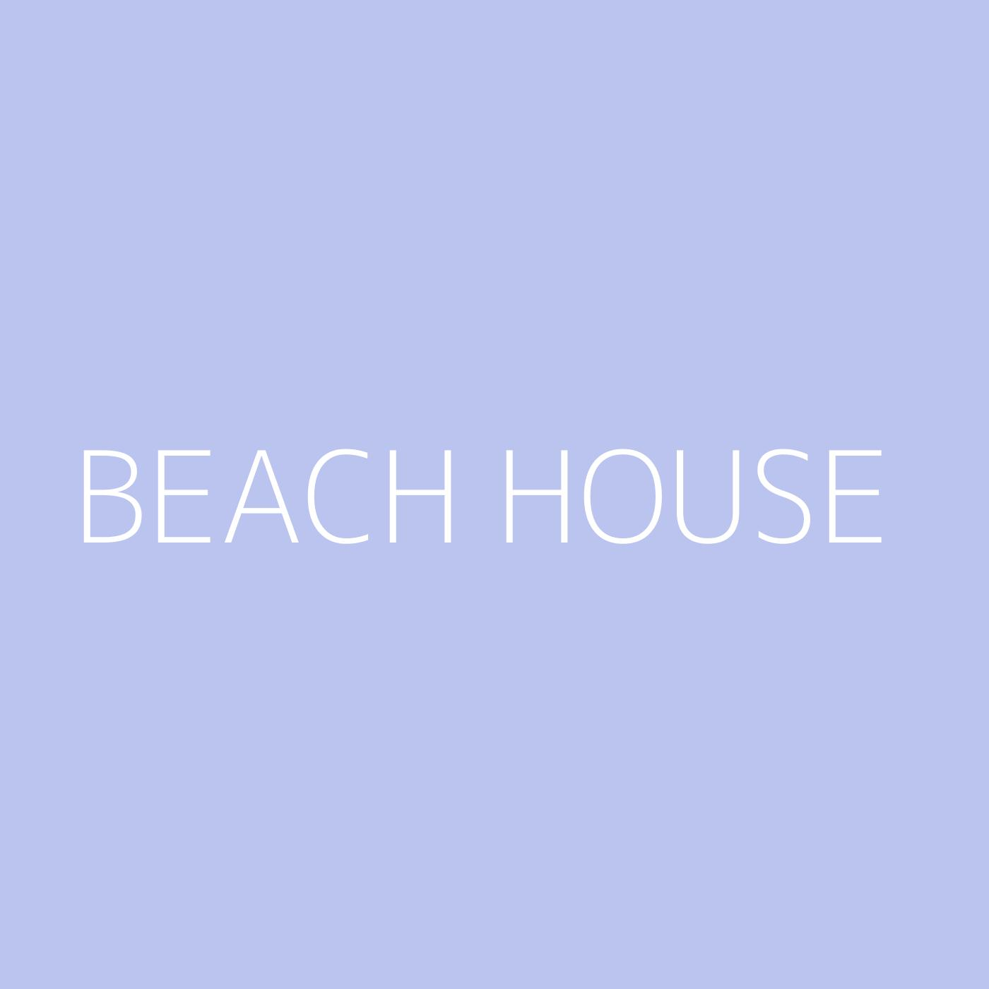 Beach House Playlist Artwork
