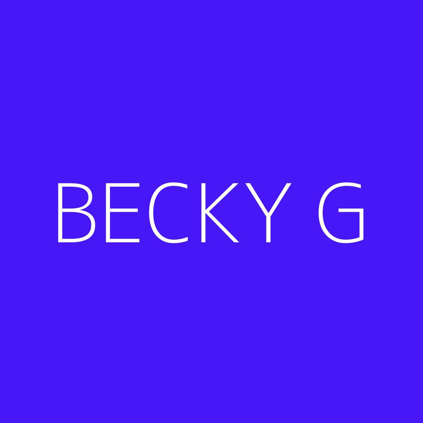 Becky G Playlist Artwork
