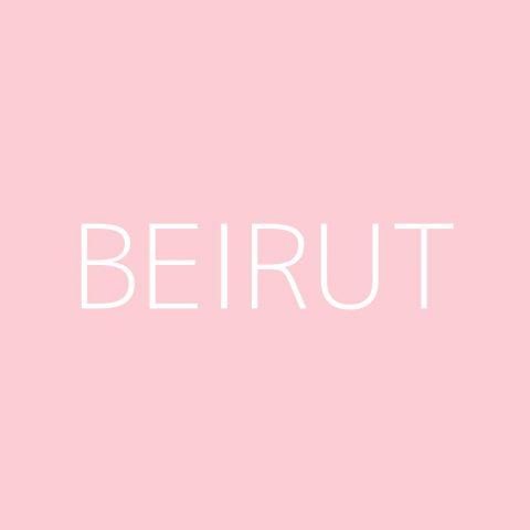 Beirut Playlist – Most Popular