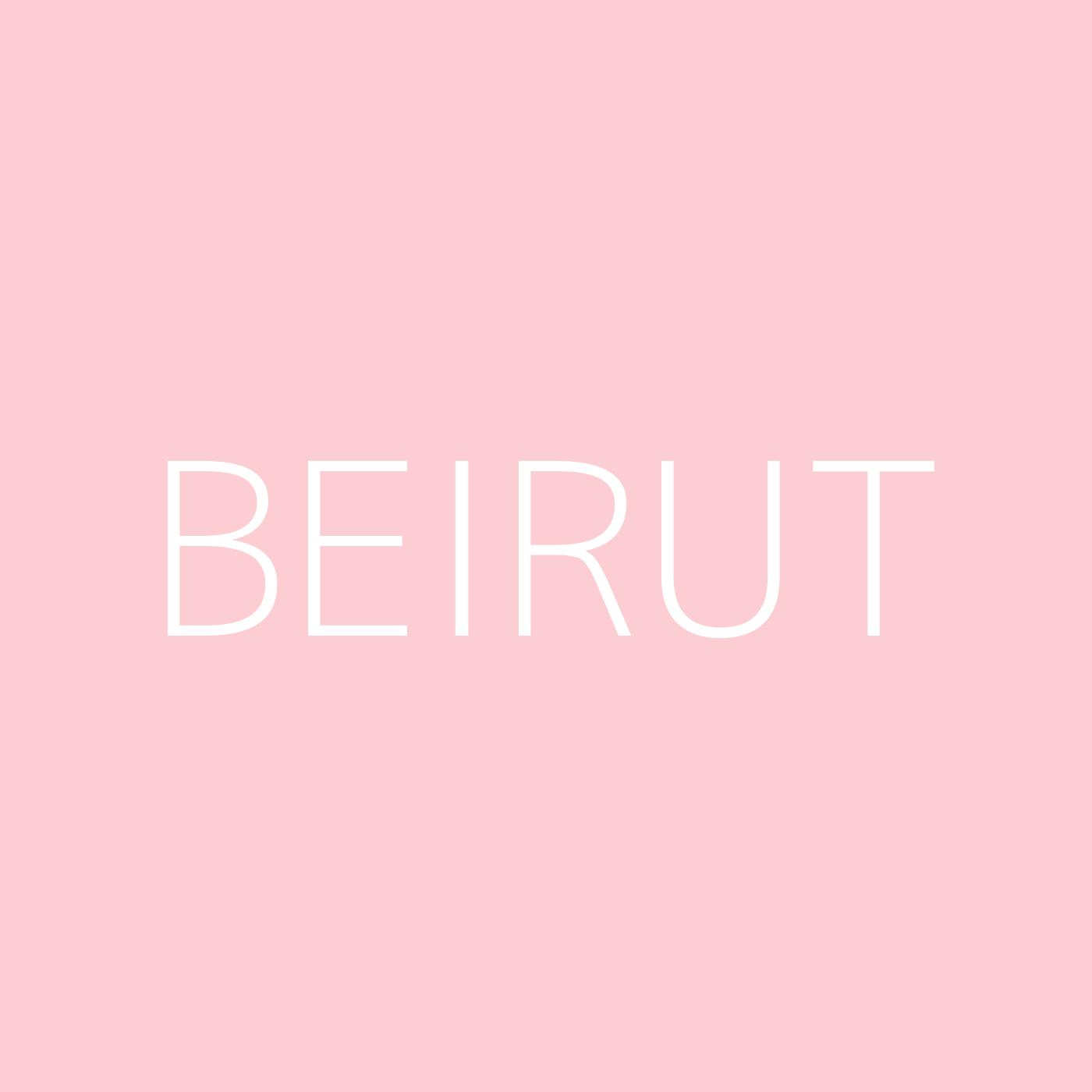 Beirut Playlist Artwork