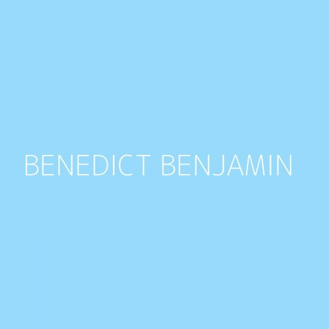 Benedict Benjamin Playlist – Most Popular