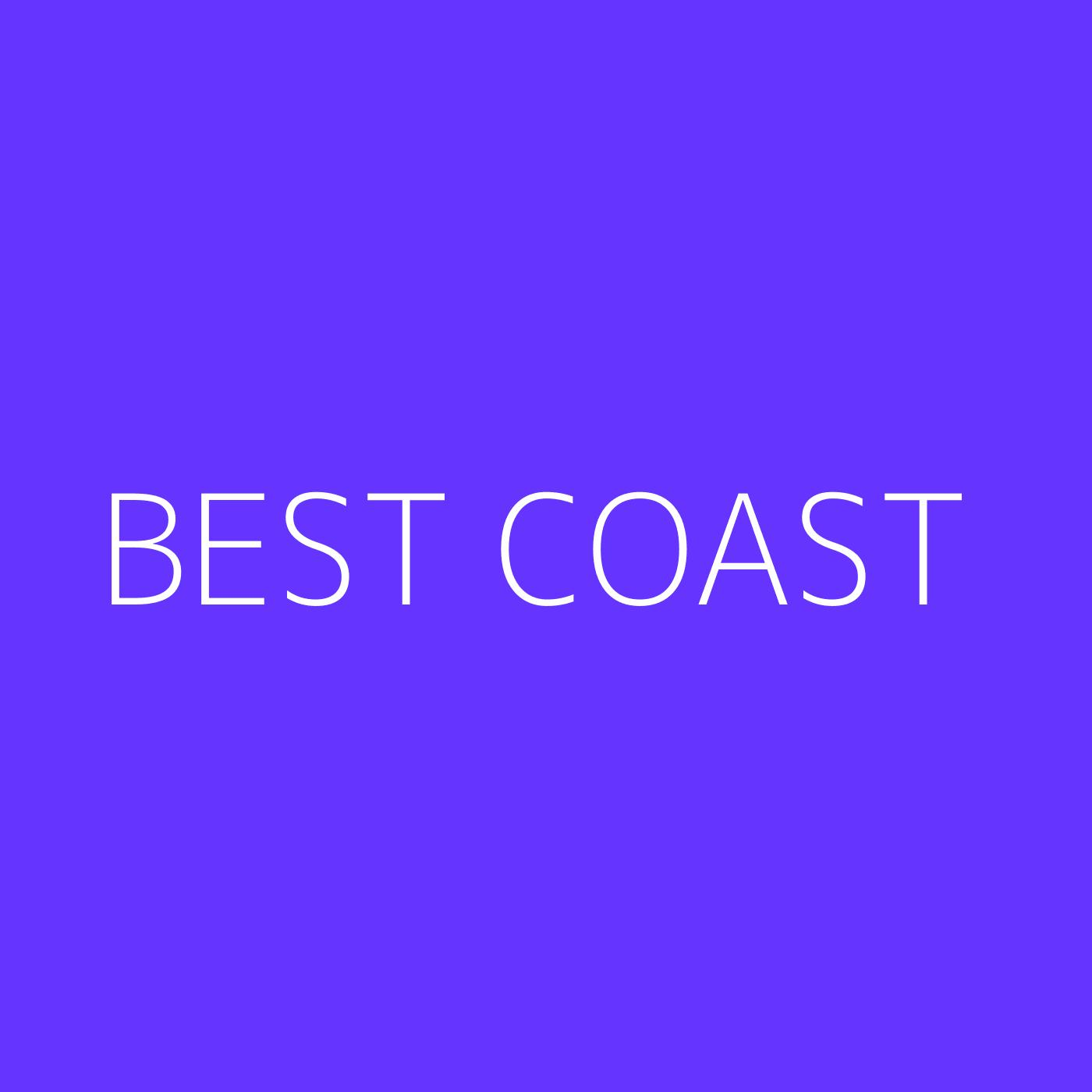 Best Coast Playlist Artwork