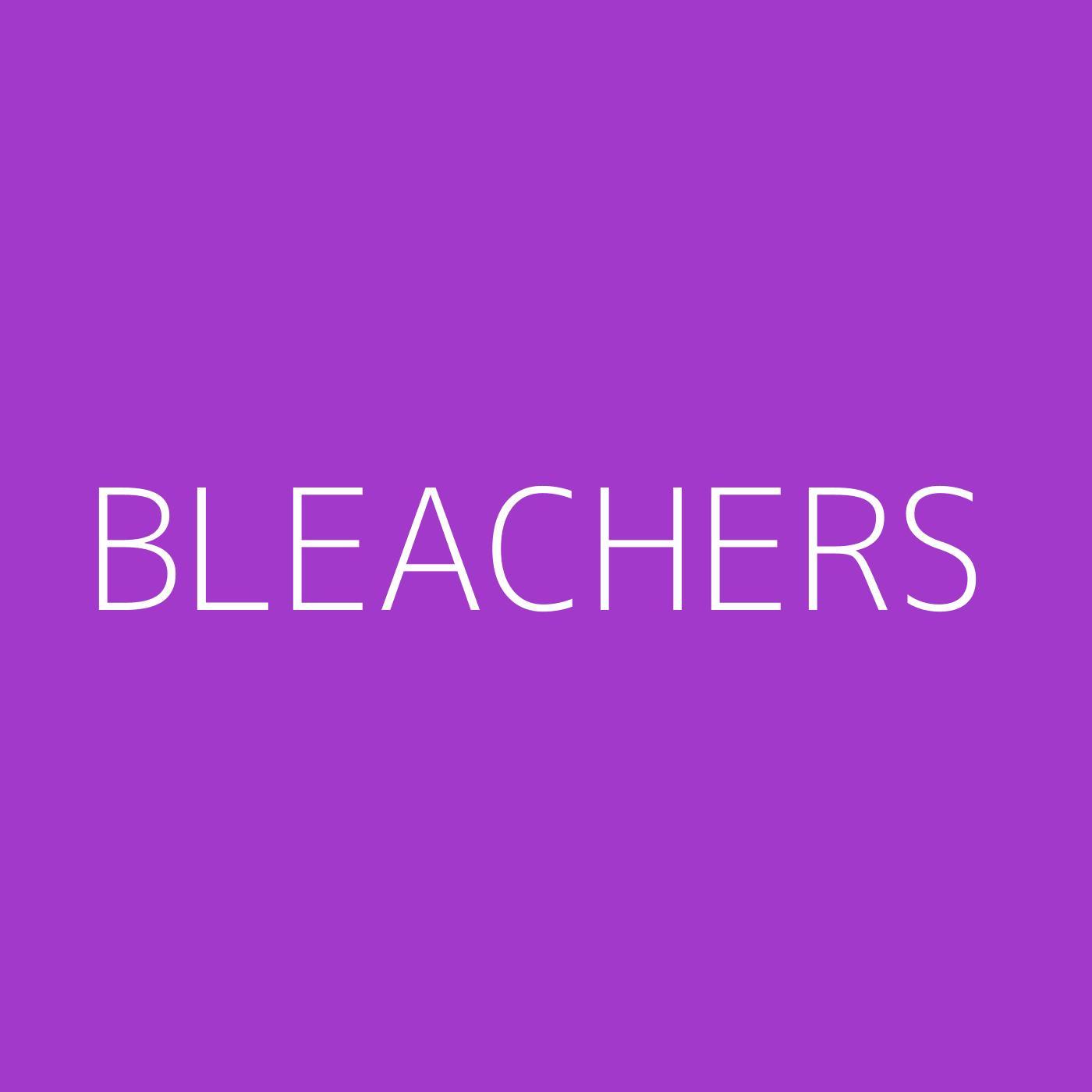 Bleachers Playlist Artwork