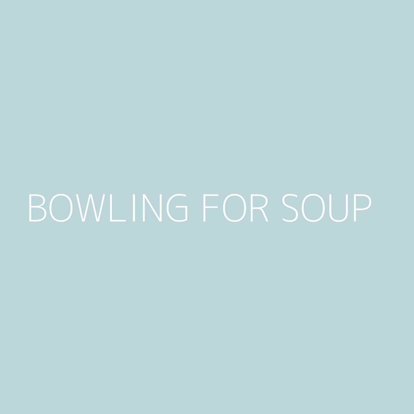 Bowling For Soup Playlist Artwork