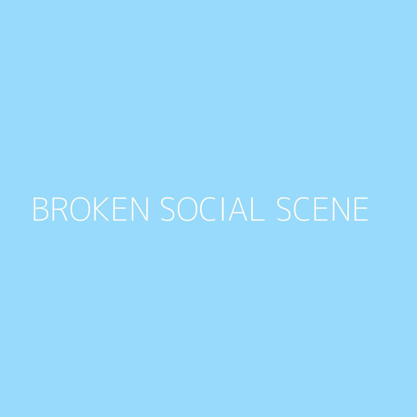 Broken Social Scene Playlist Artwork