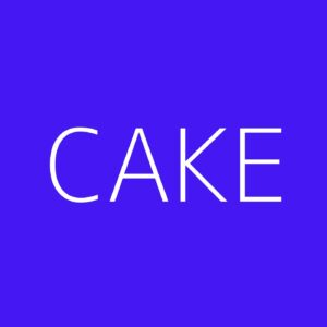 Cake Playlist - Most Popular