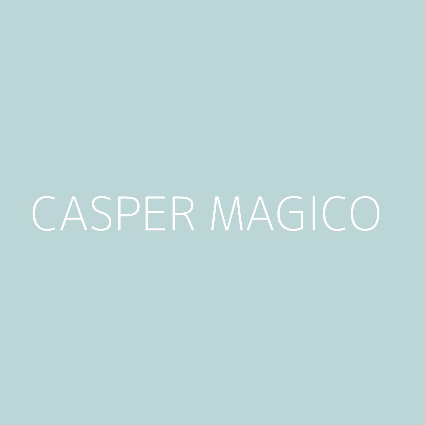 Casper Magico Playlist Artwork