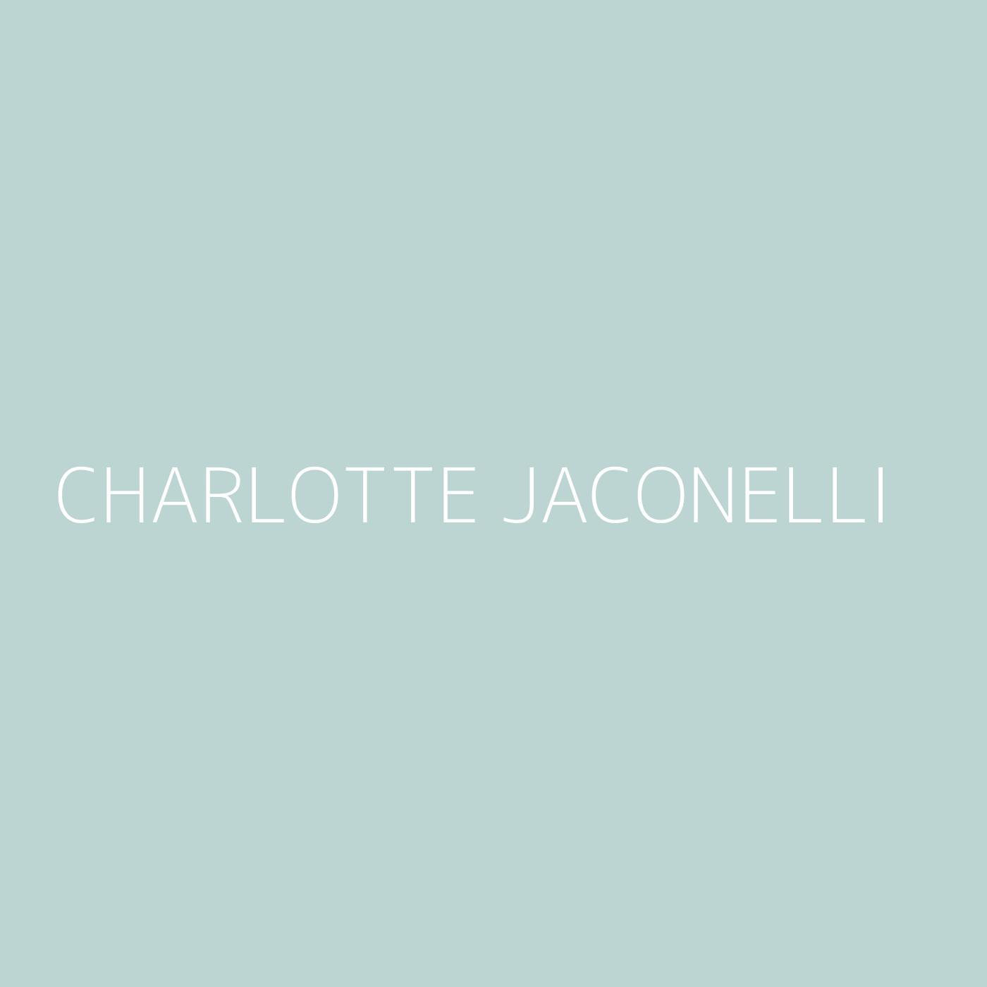 Charlotte Jaconelli Playlist Artwork