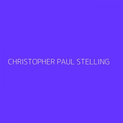 Christopher Paul Stelling Playlist – Most Popular