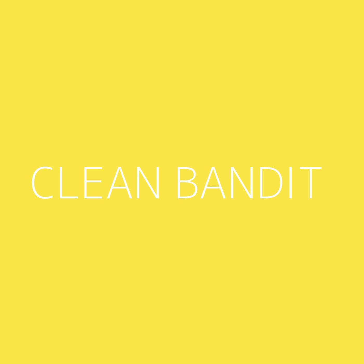 Clean Bandit Playlist Artwork