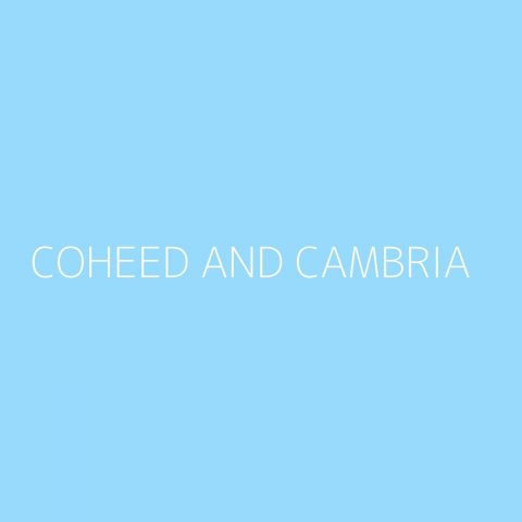 Coheed and Cambria Playlist – Most Popular