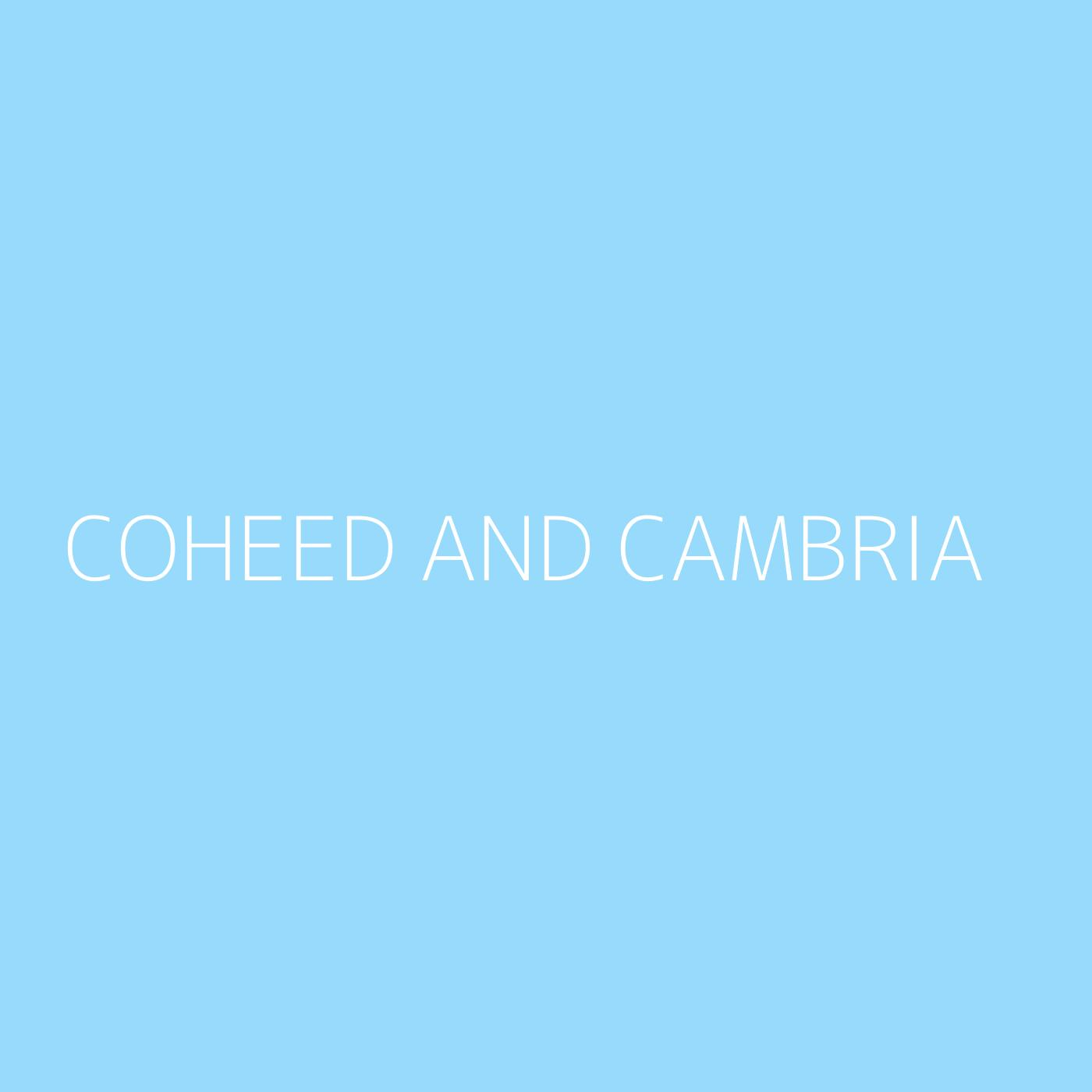 Coheed and Cambria Playlist Artwork