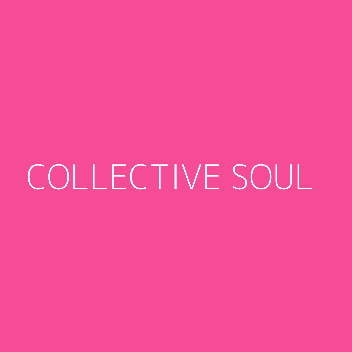 Collective Soul Playlist Artwork