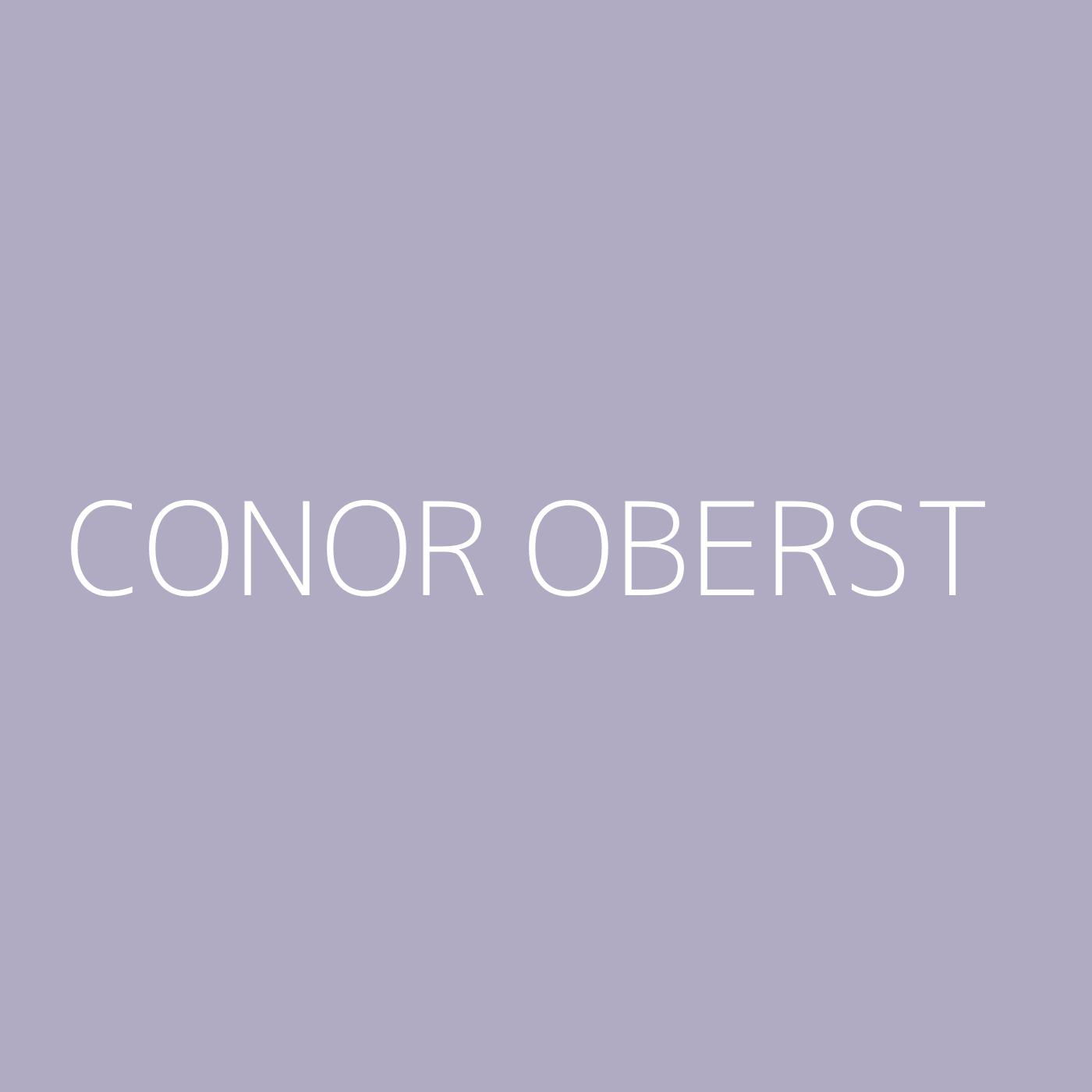 Conor Oberst Playlist Artwork