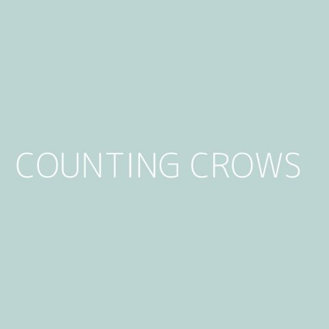 Counting Crows Playlist – Most Popular