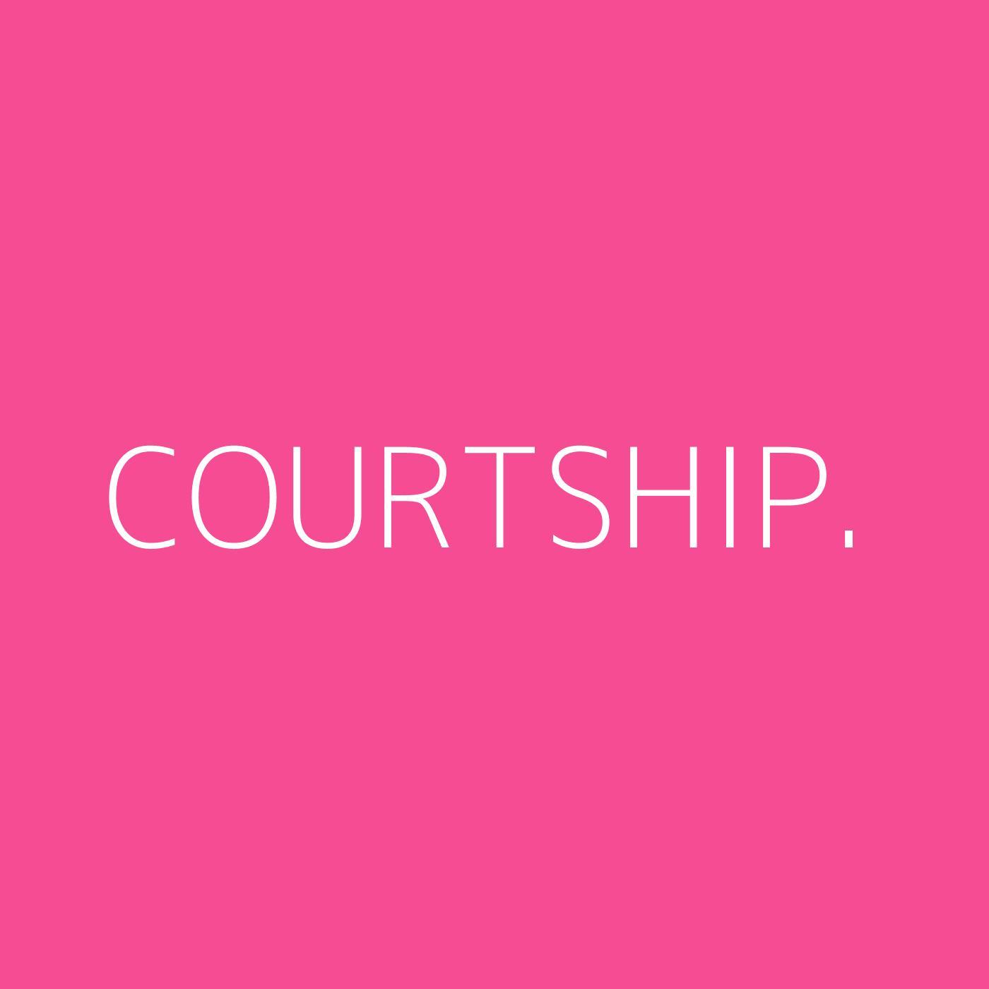 courtship. Playlist Artwork