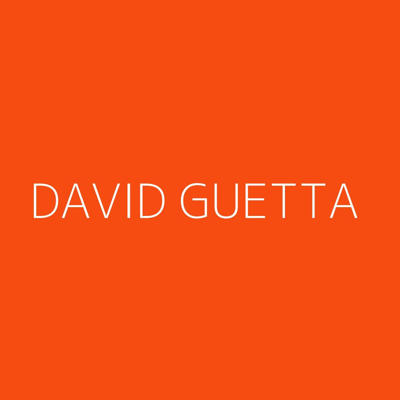David Guetta Playlist Artwork