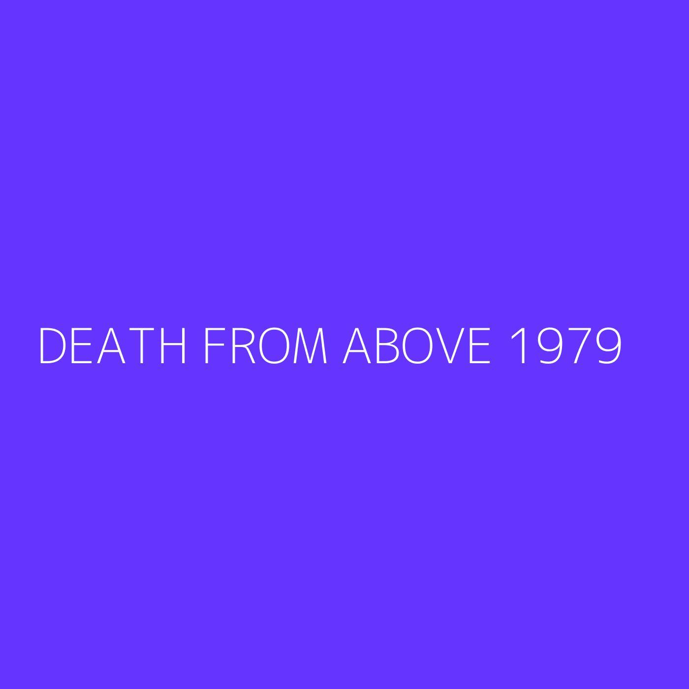 Death From Above 1979 Playlist Artwork