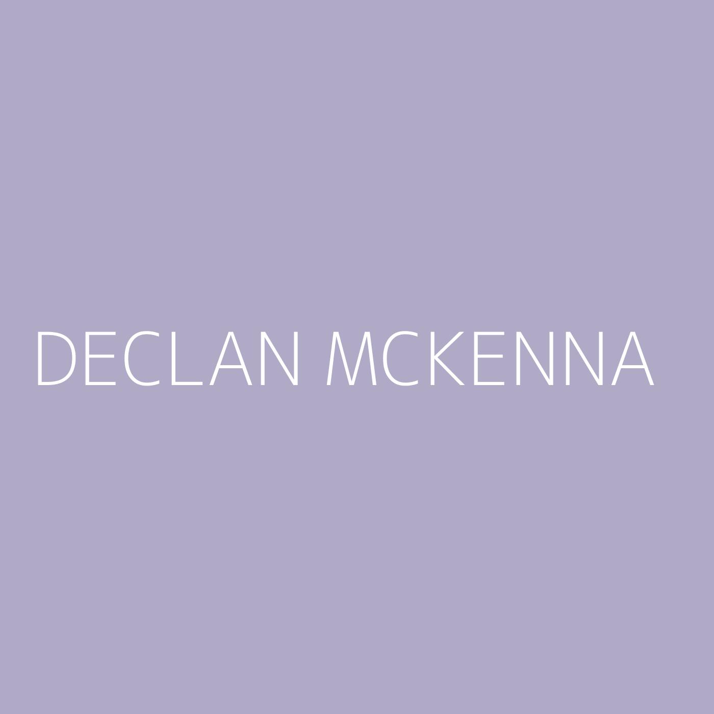 Declan McKenna Playlist Artwork