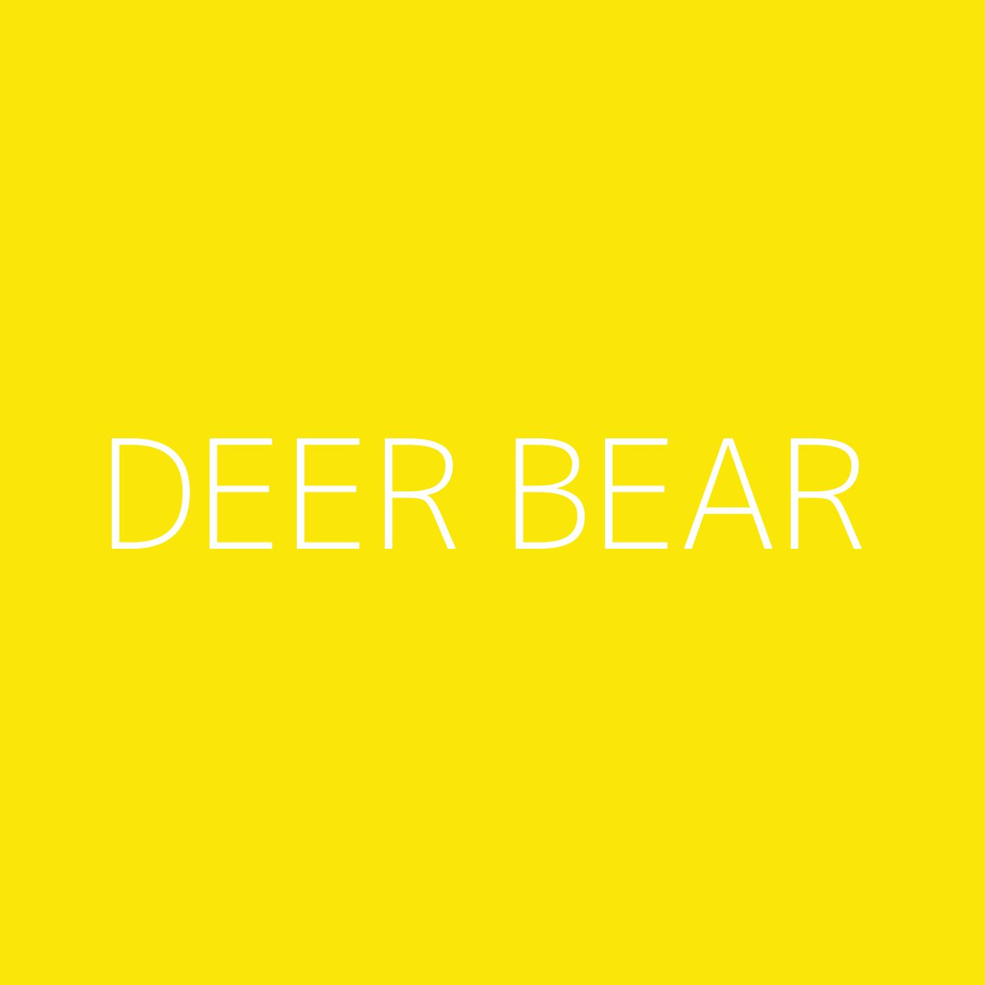 Deer Bear Playlist Artwork