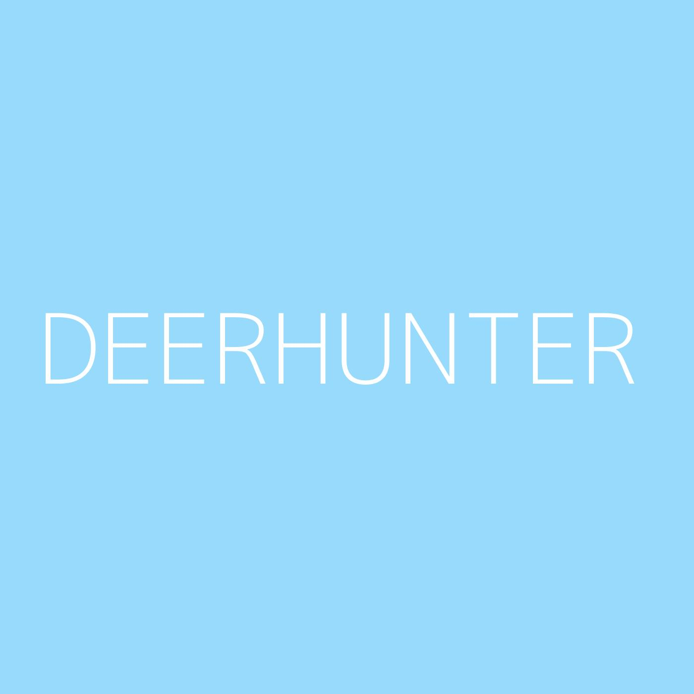 Deerhunter Playlist Artwork