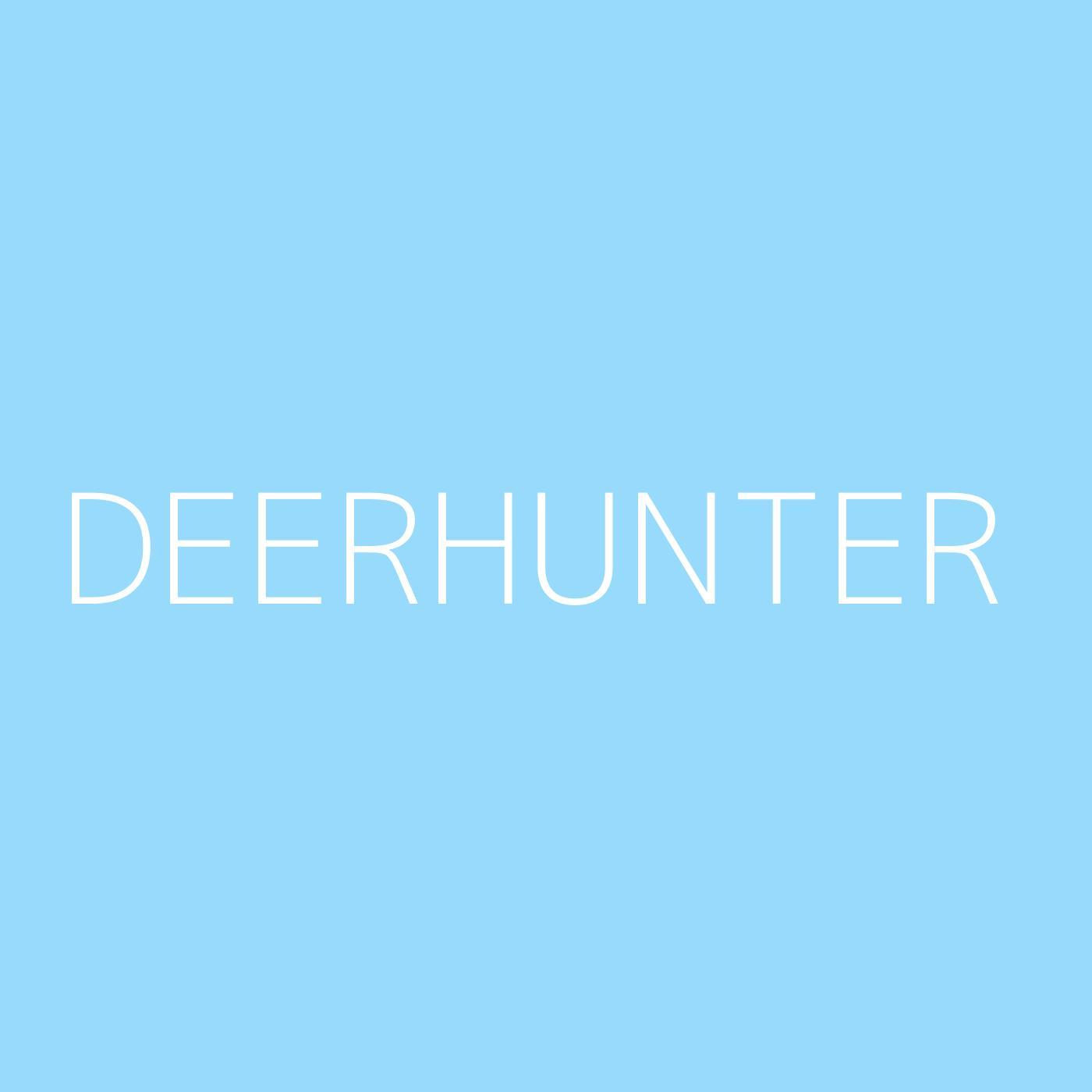 Deerhunter Playlist Artwork