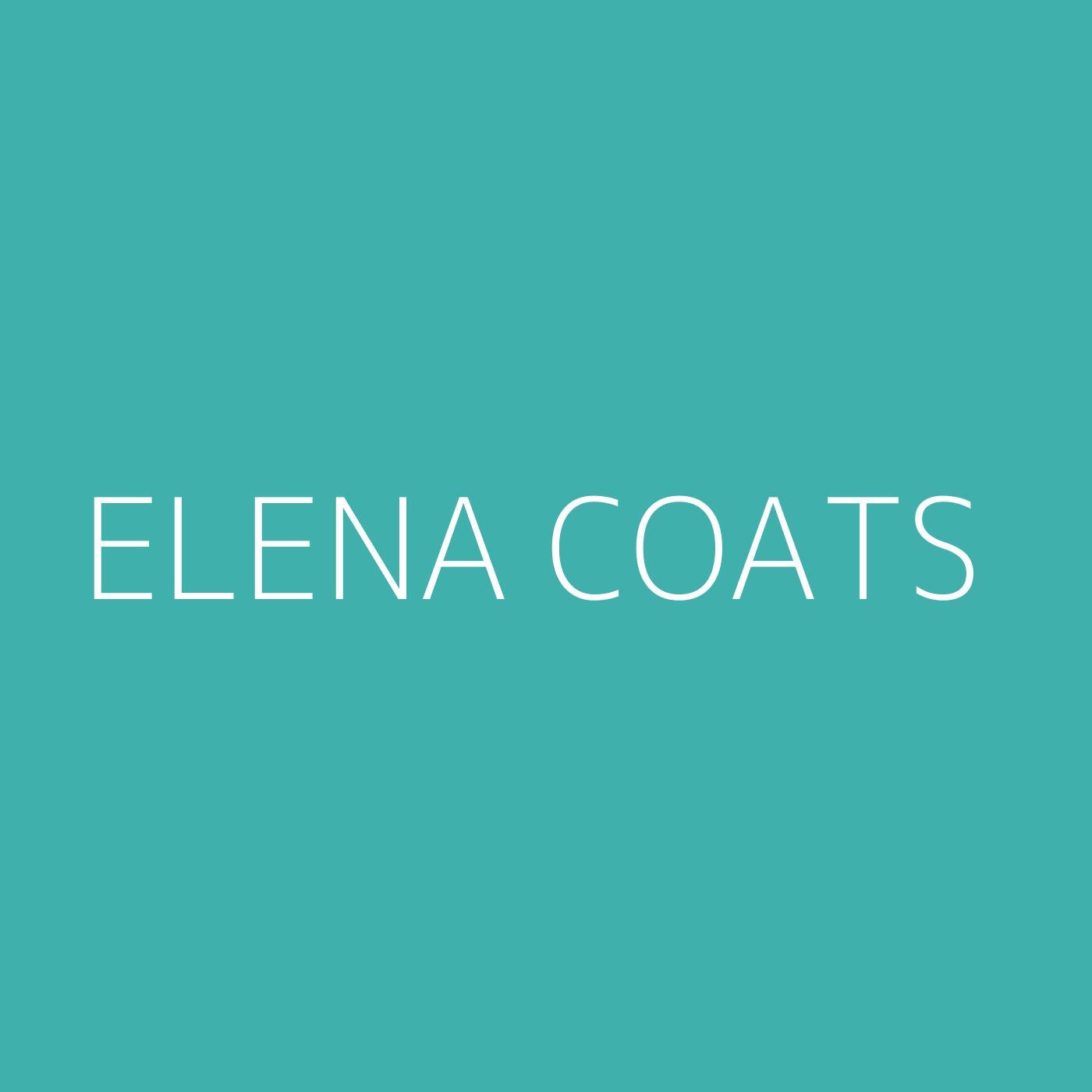 Elena Coats Playlist Artwork