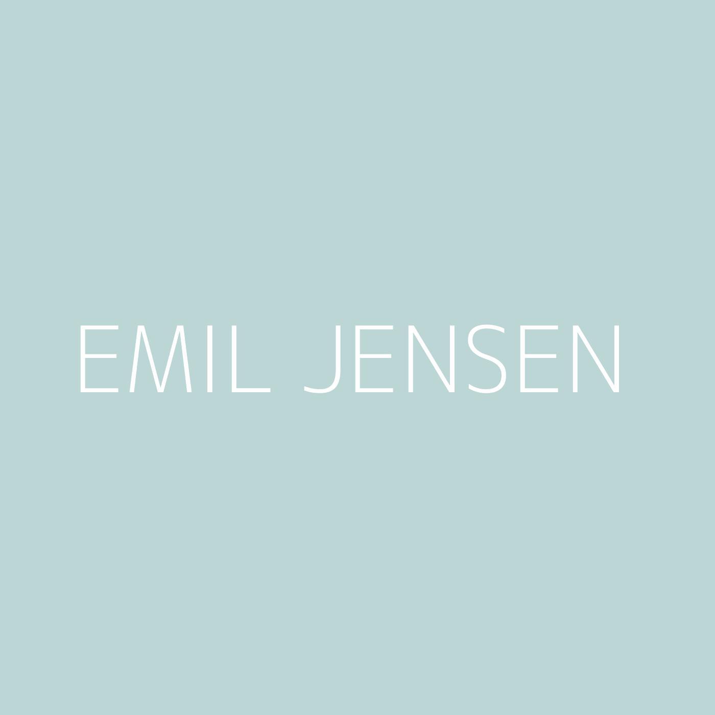 Emil Jensen Playlist Artwork