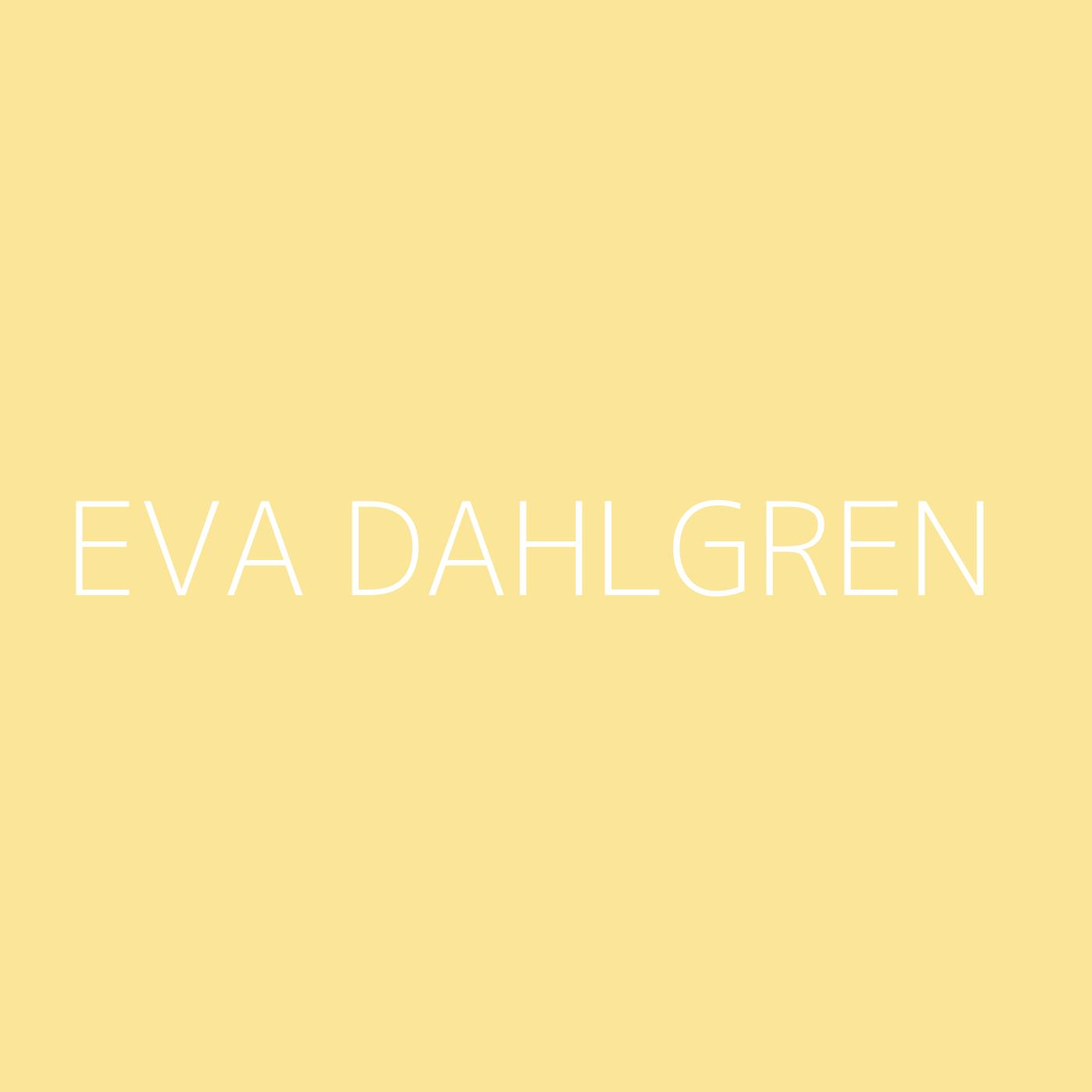 Eva Dahlgren Playlist Artwork