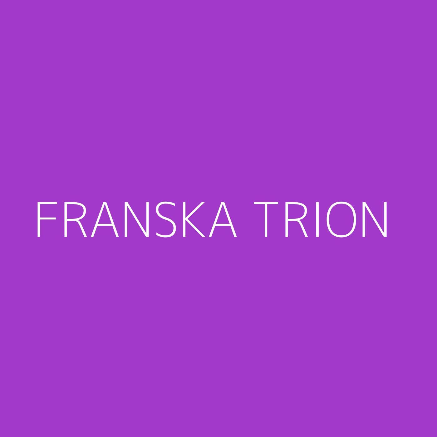 Franska Trion Playlist Artwork