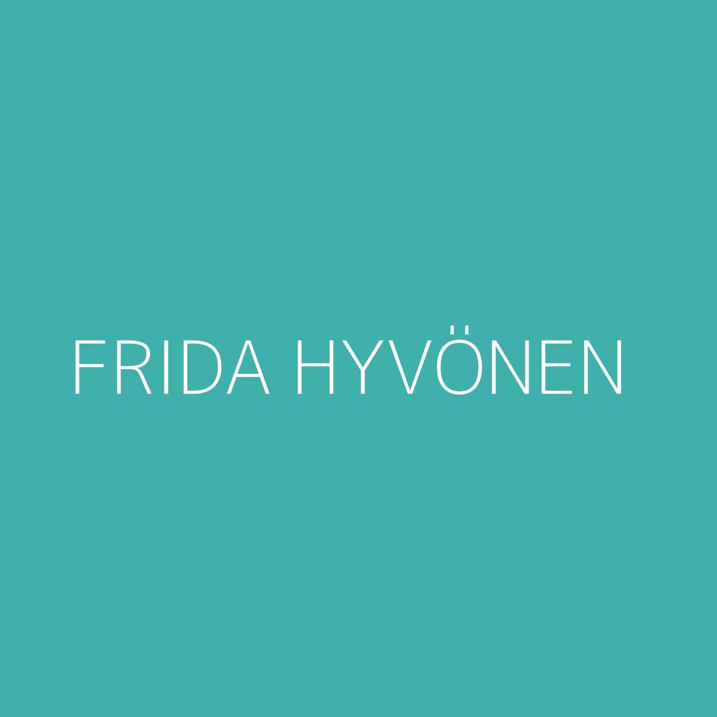 Frida Hyvönen Playlist Artwork