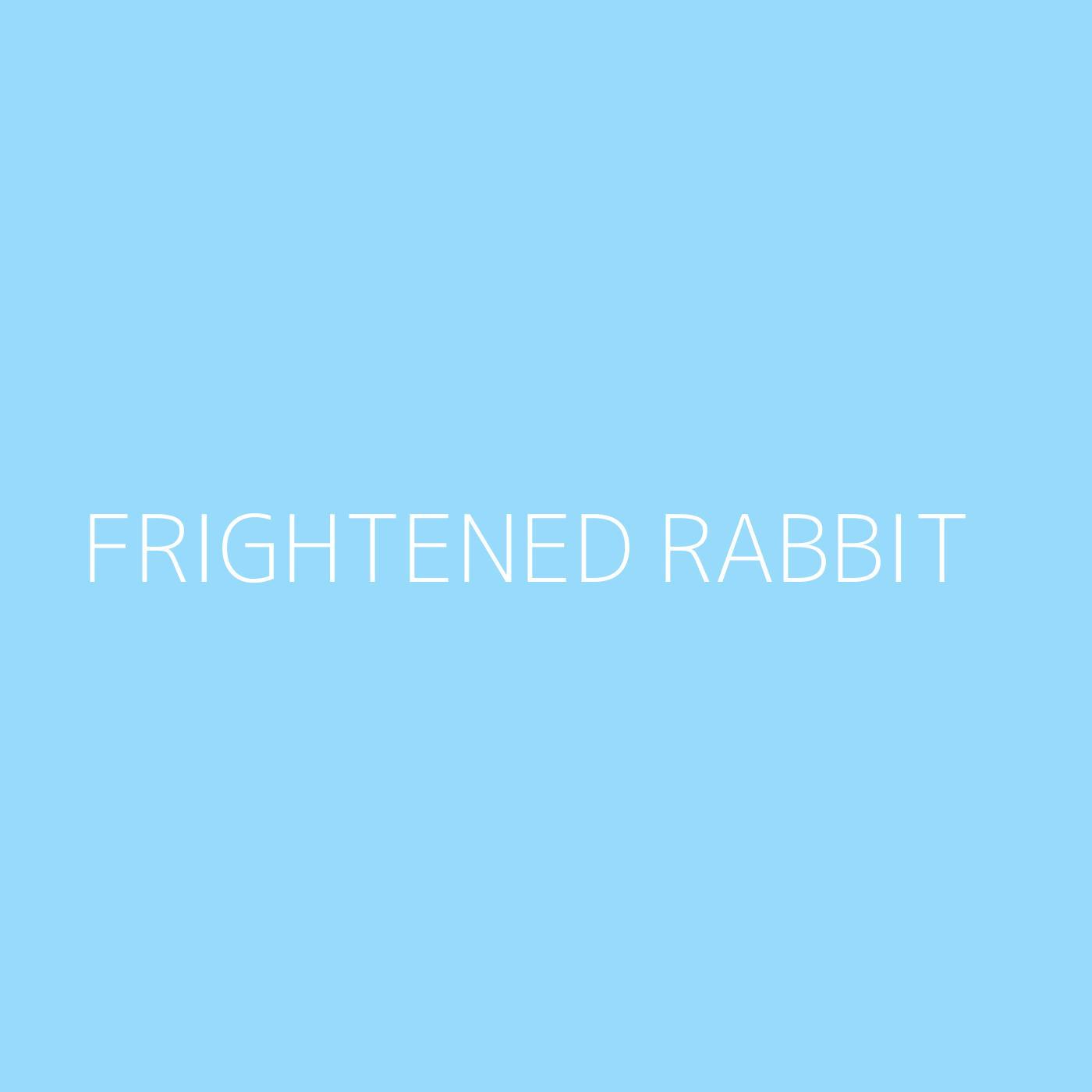 Frightened Rabbit Playlist Artwork