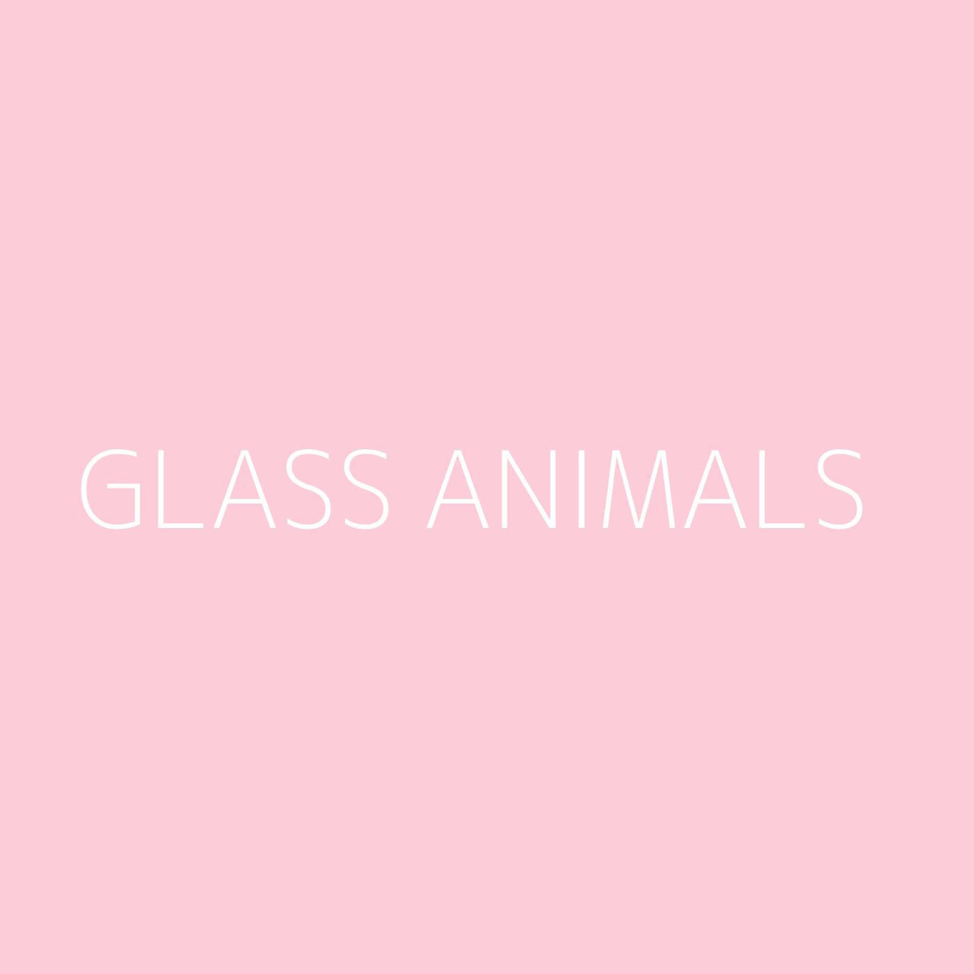 Glass Animals Playlist Artwork