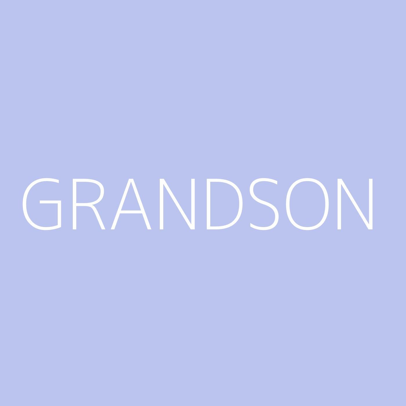 grandson Playlist Artwork