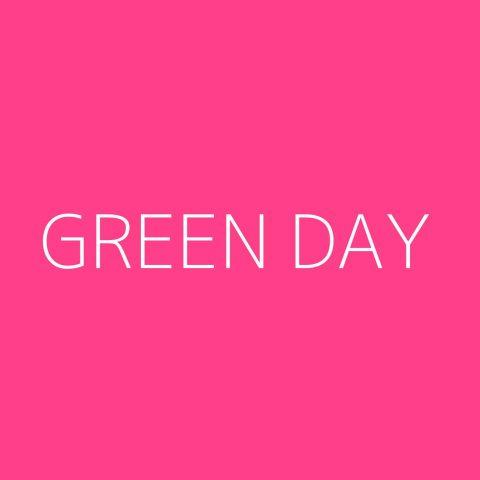 Green Day Playlist – Most Popular