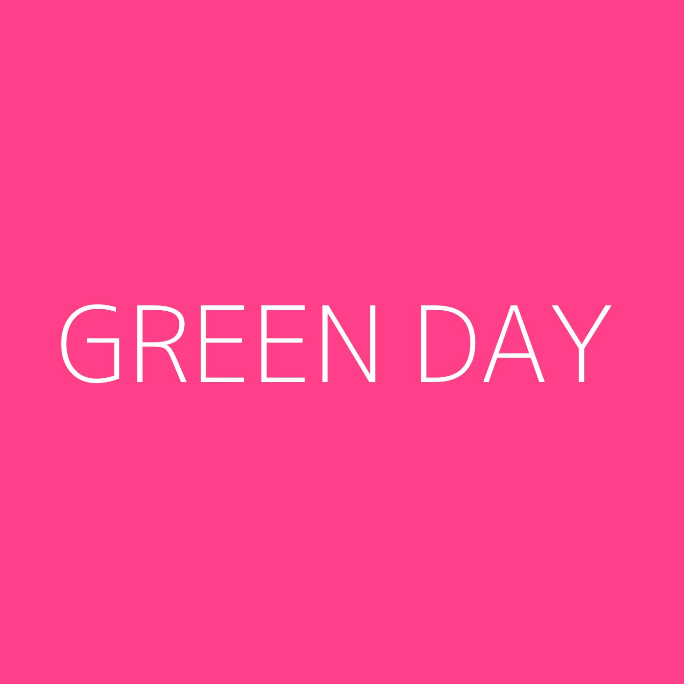 Green Day Playlist Artwork